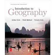 Introduction to Geography by Getis, Arthur; Bjelland, Mark, 9781259570001