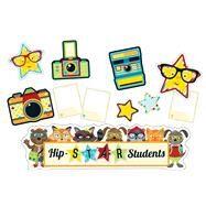 Hipster Hip-star Students Mini Bulletin Board Set by Carson-Dellosa Publishing Company, Inc., 9781483830001