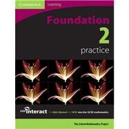 SMP GCSE Interact 2-tier Foundation 2 Practice book by Corporate Author School Mathematics Project, 9780521690003