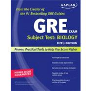 Kaplan GRE Subject Test: Biology by Kaplan, 9781419550003