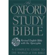 The Oxford Study Bible: Revised English Bible with Apocrypha by Bible, 9780195290004