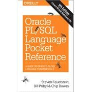 Oracle PL/SQL Language by Feuerstein, Steven; Pribyl, Bill; Dawes, Chip, 9781491920008