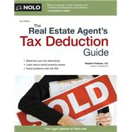 The Real Estate Agent's Tax Deduction Guide by Fishman, Stephen, 9781413320015