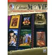 Classic Movie Instrumental Solos for Alto Saxophone by Alfred Publishing, 9780739070017