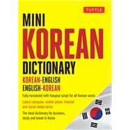 Mini Korean Dictionary by Tuttle Publishing, 9780804850018