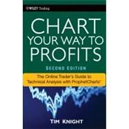 Chart Your Way to Profits : The Online Trader's Guide to Technical Analysis with ProphetCharts by Knight, Timothy, 9780470620021