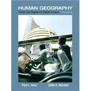 Places and Regions in Global Context : Human Geography by Knox, Paul L.; Marston, Sallie A., 9780321580023