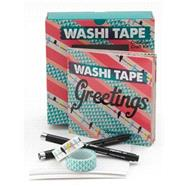 Washi Tape Greetings Kit by Cerruti, Courtney, 9781631590023