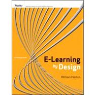 e-Learning by Design by Horton, William, 9780470900024