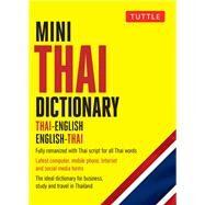 Mini Thai Dictionary by Barme, Scot; Najaithong, Pensi; Rattanakhemakorn, Jintana, 9780804850025