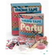 Washi Tape Party Kit by Quarry Books, 9781631590030