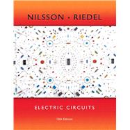 Electric Circuits by Nilsson, James W.; Riedel, Susan, 9780133760033