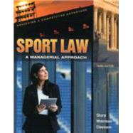 Sport Law by Linda A. Sharp; Anita M. Moorman;Cathryn L. Claussen, 9781621590033