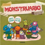 Monstruario by Navarro, Àngels; Sans, Eva, 9788491010036