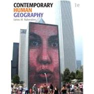 Contemporary Human Geography by Rubenstein, James M., 9780321590039