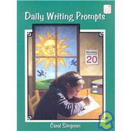 Daily Writing Prompts by Simpson, Carol, 9781596470040