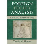 Foreign Policy Analysis by Hudson, Valerie M., 9781442220041