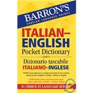 Barron's Italian-English Pocket Dictionary/ Dizionario Tascabile Italiano-Inglese