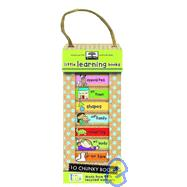 Little Learning Books : 10 Chunky Books Made from 98% Recycled Materials by Ikids, 9781601690050