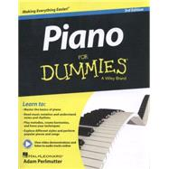 Piano for Dummies by Perlmutter, Adam, 9781118900055