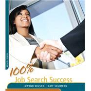 100% Job Search Success by Wilson, Gwenn, 9781285430058