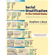 Social Stratification in the United States by Rose, Stephen J., 9781620970058