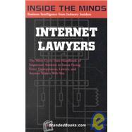 Inside the Minds: Internet Lawyers by Ebrandedbooks Com, 9781587620065