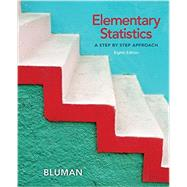 Elementary Statistics: A Step by Step Approach with Connect Math hosted by ALEKS Access Card by Bluman, Allan, 9781259680069