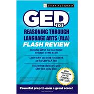 GED Test Reasoning Through Language Arts Flash Review by Learningexpress, Llc, 9781611030075