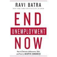 End Unemployment Now How to Eliminate Joblessness, Debt, and Poverty Despite Congress by Batra, Ravi, 9781137280077