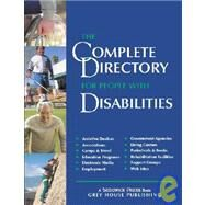 The Complete Directory for People With Disabilities 2003/04: A Comprehensive Source Book for Individuals and Professionals by Mars-Proietti, Laura, 9781592370078