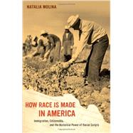 How Race Is Made in America: Immigration, Citizenship, and the Historical Power of Racial Scripts by Molina, Natalia, 9780520280083