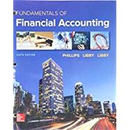 GEN COMBO LL FUNDAMENTALS OF FINANCIAL ACCOUNTING; CONNECT ACCESS CARD by Phillips, Fred, 9781260260083