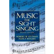 Music for Sight Singing by Ottman, Robert; Rogers, Nancy, 9780205760084