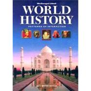 World History: Patterns of Interaction Student Edition by Holt Mcdougal, 9780618690084