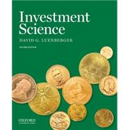Investment Science by Luenberger, David G., 9780199740086