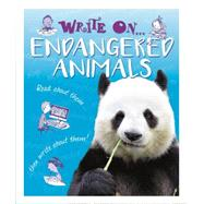Write On: Endangered Animals by Hibbert, Clare, 9781445150086