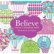 Believe Artists' Coloring Books by Ingram, Zoe, 9781441320087