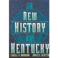 A New History of Kentucky by Harrison, Lowell Hayes, 9780813120089