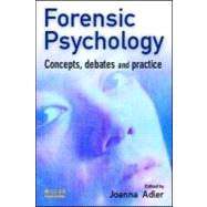 Forensic Psychology by Adler; Joanna, 9781843920090