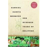 One Hundred Years of Solitude by Garcia Marquez, Gabriel, 9780061120091