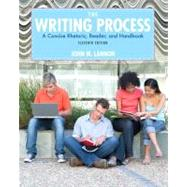 The Writing Process by Lannon, John M., 9780205210091