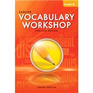 Vocabulary Workshop: Enriched Edition: Student Edition: Level D (Grade 9) by Shostak, 9780821580097