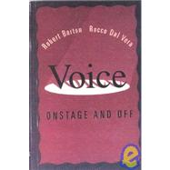 *ACP KIP: VOICE: ONSTAGE AND OFF by BARTON, 9780155130098