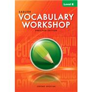 Vocabulary Workshop 2012 Edition Student Edition Level E, Grade 10 (66305) by Shostak, 9780821580103