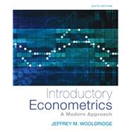 Introductory Econometrics: A Modern Approach by Wooldridge, Jeffrey M., 9781305270107