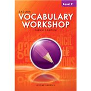 Vocabulary Workshop 2012 Enriched Edition Student Edition Level F, Grade 11 (66312) by Shostak, Jerome, 9780821580110