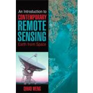 An Introduction to Contemporary Remote Sensing by Weng, Qihao, 9780071740111