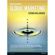 Global Marketing by Hollensen, Svend, 9781292100111