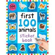 First 100 Animals Sticker Book by Priddy, Roger, 9780312520113